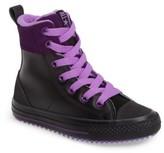 Converse Girl's Chuck Taylor All Star Asphalt High Top Sneaker