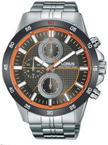 Lorus Men's RY401A Sport Stainless Steel Multi-Dial Wrist Watch