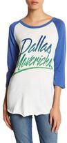 Junk Food Clothing Dallas Mavericks 3/4 Length Sleeve Tee