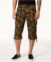 INC International Concepts I.n.c. Men's Camo Messenger Shorts, Created for Macy's