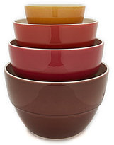 Southern Living 4-Piece Earthenware Mixing Bowl Set