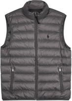 Polo Ralph Lauren Grey Quilted Shell Gilet