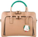 Anya Hindmarch Maxi Zip Top Handle Satchel
