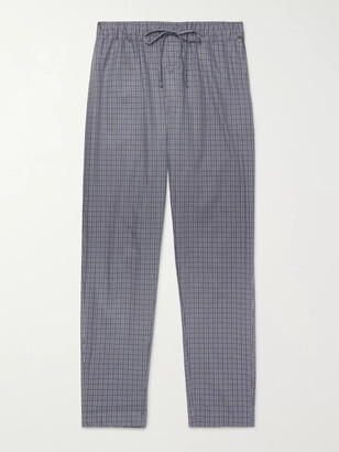 Hanro Night & Day Checked Cotton Pyjama Trousers