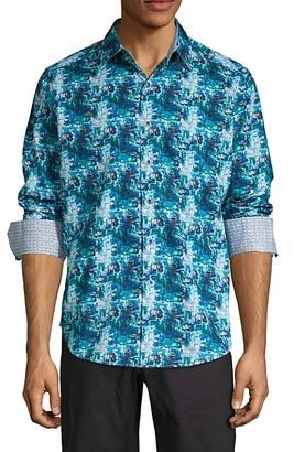 Robert Graham Classic-Fit Printed Long-Sleeve Shirt