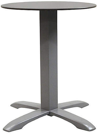 Sensational Easy I Round Outdoor Bistro Table Pewter Download Free Architecture Designs Barepgrimeyleaguecom