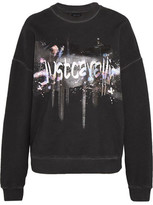 Just Cavalli Printed Cotton Sweatshirt