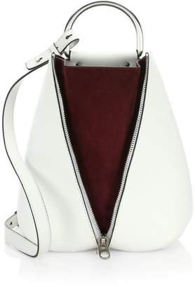 Proenza Schouler Shiny Leather Vertical Zip Backpack