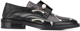 Coliac Pearl-Embellished Derby Shoes