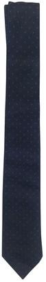 Louis Vuitton Blue Silk Ties
