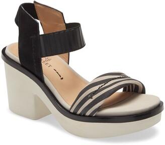 Naked Feet Basalt Platform Sandal
