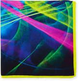 Bugatchi Graphic-Print Silk Pocket Square