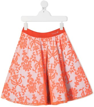 Mi Mi Sol TEEN damask print skirt