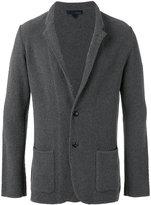 Lardini classic blazer - men - Cotton/Polyamide - S