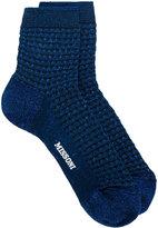 M Missoni tweed socks