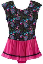 Jacques Moret Girls 4-14 Heart Skirted Leotard