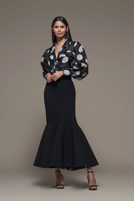 Isabel Sanchis Bordighera Long Sleeve Top and Skirt