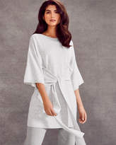 Ted Baker Tie front knitted tunic dress