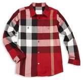 Burberry Little Boy's & Boy's Camber Button-Front Shirt