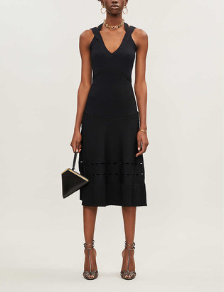 Alexis Betti V-neck stretch-jersey dress