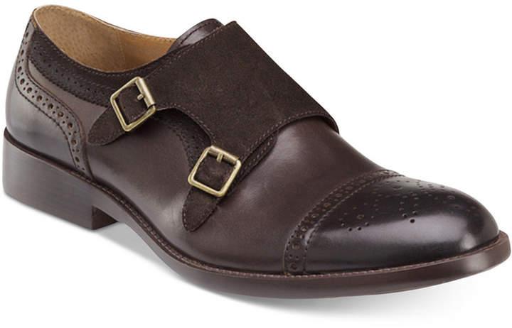 Johnston & Murphy Men's Fletcher Double Monk Strap Slip-On Loafers