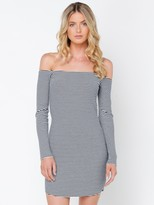 Nude Lucy Avery Off Shoulder Dress