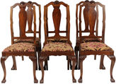 One Kings Lane Vintage 1940s Chippendale-Style Chairs, S/6
