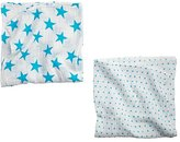 Baby Essentials aden + anais Blue Star Swaddle Blankets (Set of 2)