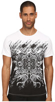 Just Cavalli Mirrored Baroque Ring Tee