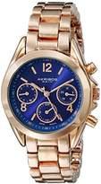 Akribos XXIV Women's AK809YGOR Swiss Quartz Gold-Tone Watch