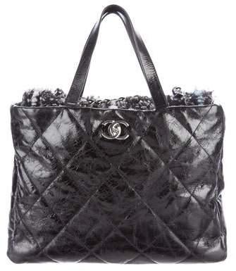 Chanel Portobello Tweed Frame Bag