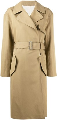 Joseph Lewis belted trench coat