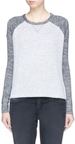 Rag & Bone 'Camden' colourblock jersey raglan long sleeve T-shirt