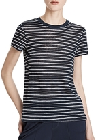 ATM Anthony Thomas Melillo Atm Anthony Thomas Melilla Linen Striped Tee