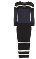 James Perse Cotton-blend Sweater Dress
