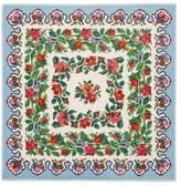 Gucci Pixelated Floral print modal silk shawl