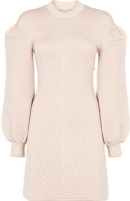 Fendi Quilted Short Dress