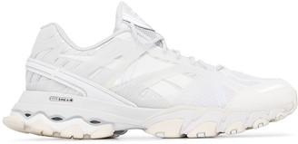 Reebok white DMX trail shadow sneakers