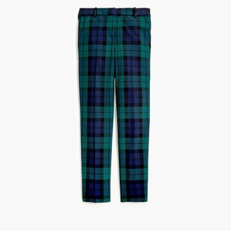 J.Crew Slim cropped Ruby pant in Black Watch plaid