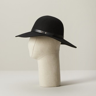 Love & Lore Love And Lore Floppy Hat Black