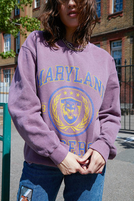 Urban Outfitters Maryland Tigers Crew Neck Sweatshirt