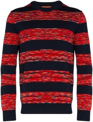 Missoni Striped Long-Sleeve Jumper