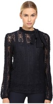 RED Valentino Jersey Lace Blouse Women's Blouse