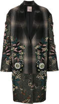 Antonio Marras embellished single breasted coat