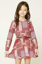 Forever 21 FOREVER 21+ Girls Ornate Print Dress (Kids)