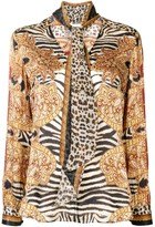 Thumbnail for your product : Camilla Abstract-Print Silk Blouse