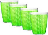 Kraftware Fishnet Set of 4 14-oz. Doublewall Glasses
