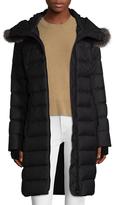 Soia & Kyo Eva Down Fur Ruff Hoodie Coat