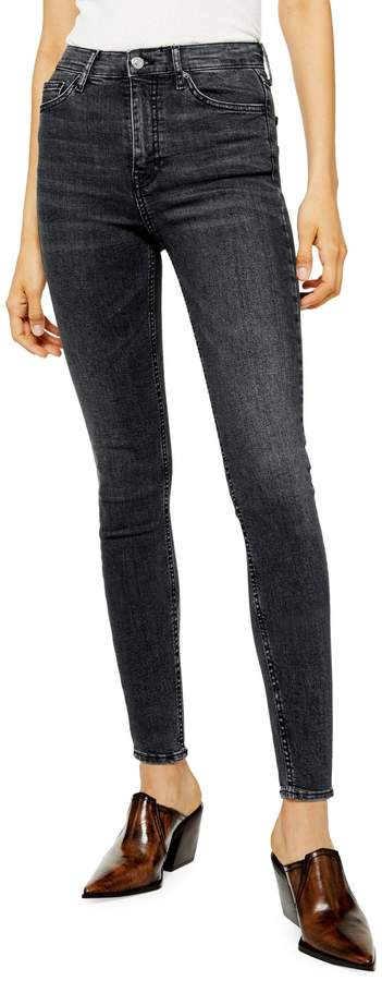Topshop Washed Jamie Jeans 34-Inch Leg