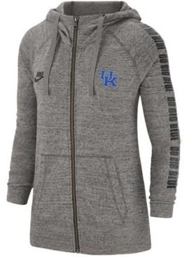 Nike Kentucky Wildcats Women's Gym Vintage Full Zip Hoodie